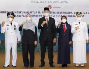 Pelantikan Bupati/Wakil Sumbawa Terpilih Masa Jabatan 2021-2026